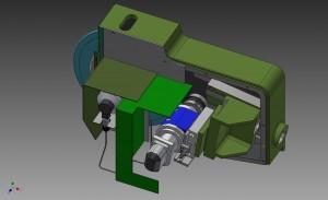 Dresser Slide - 3D image