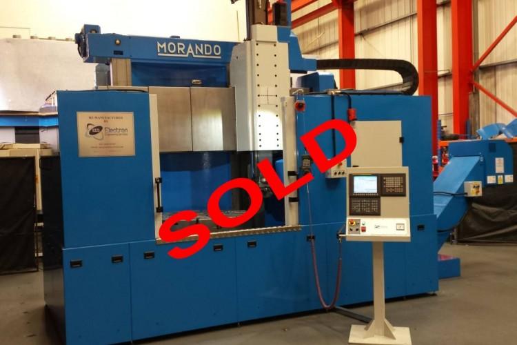 Unilathe buys 2nd Morando CNC Vertical Borer