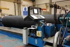 SIEMENS RETROFIT OF CNC ROLL GRINDER